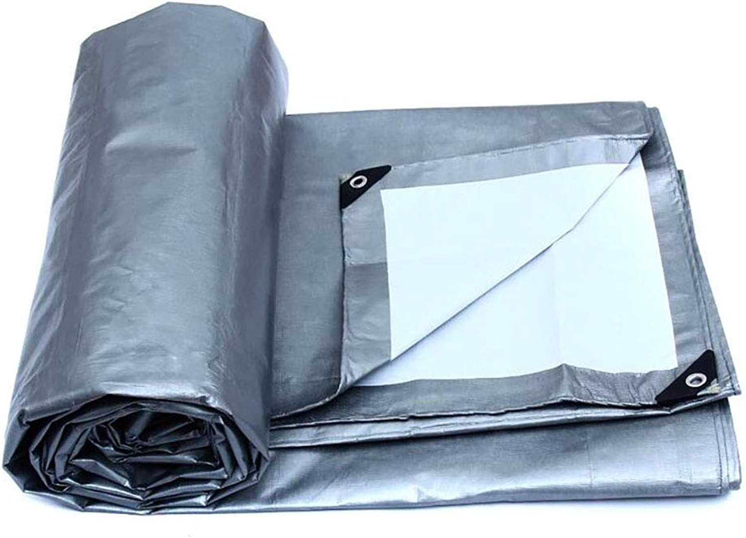 Tarpaulin Sheet Polyethylene Swimming Pools Cover Mildew Corrosion Resistance Durable Easy Folding 175g m2, Thickness 0.32mm (color   A, Size   10  6m)