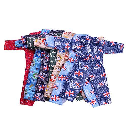 Nachtwäsche-Set, für 18-Zoll-Boy-Puppen Nette Mini-Kleidung Zubehör für Puppen N1157