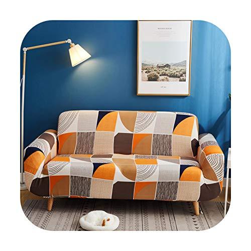 Sofa covers 2020 New Geometric Elastic Sofa Cover Stretch Sofa Cover for Living Room Armchair Sofa Cover 1/2/3/4 Seat Sofa covers439-J-4-Seater 235-300Cm