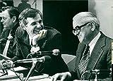 Swedish Businessman Anders Wall and Swedish Politician Nils G. Åsling - Vintage Press Photo