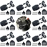 8 Set Spa Hot Tub Cover Broken Latch Repair Kit Have Slot - Replace Latches Clip Lock with Keys and Hardwares