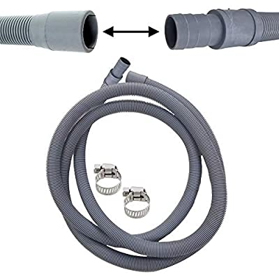 FIND A SPARE Drain Hose & Pipe Extension Connection Kit 2.5m