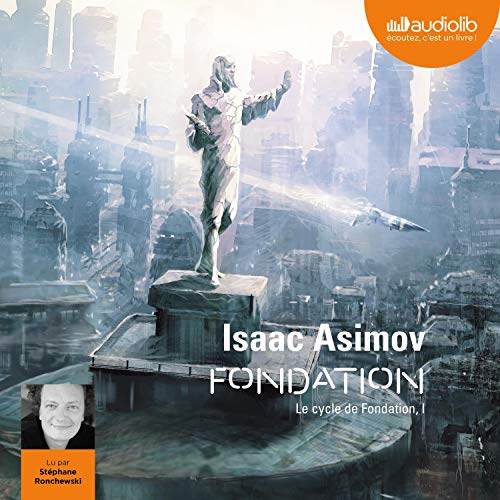 Fondation audiobook cover art
