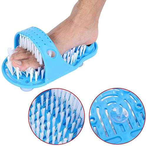 Simple Feet Cleaner, Feet Cleaning Brush, Foot Scrubber for Washer Shower Spa Massager Slippers