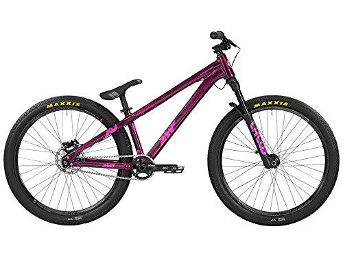 Bergamont Kiez Pro 26'' Dirt MTB Fahrrad lila/pink 2016: Größe: L (170-180cm)