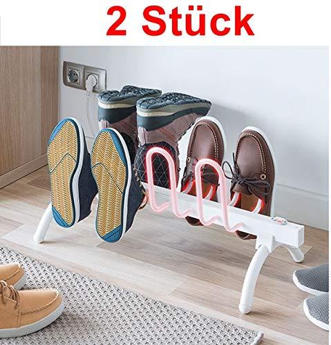 GKA Elektrische schoenendroger voor 4 paar schoenen schoenenrek schoenenwarmer pantoffels