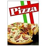 net-xpress Pizza-Werbeplakat für Gastronomie-Werbung A1,