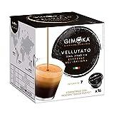 Gimoka Cápsula de Café Vellutato , Compatível Com Dolce Gusto, Contém 16 Cápsulas