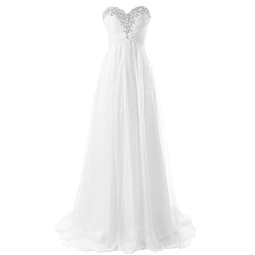 46d751c527 JAEDEN Beach Wedding Dress Strapless Bridal Dresses Simple Wedding Gown  Chiffon Bride Dress