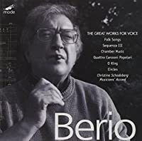 Great Works for Voice 1 by L. Berio