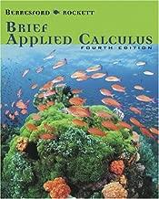 Brief Applied Calculus, Fourth Edition