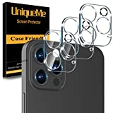 [ 3 Pack] UniqueMe Camera Lens Protector Compatible with iPhone 12 Pro 6.1' (Not...