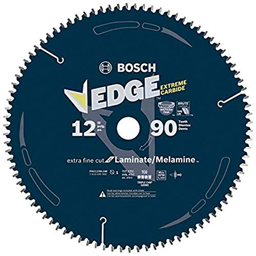 BOSCH PRO1290LAM 12 In. 90 Tooth Laminate Cutting Circular Saw Blade