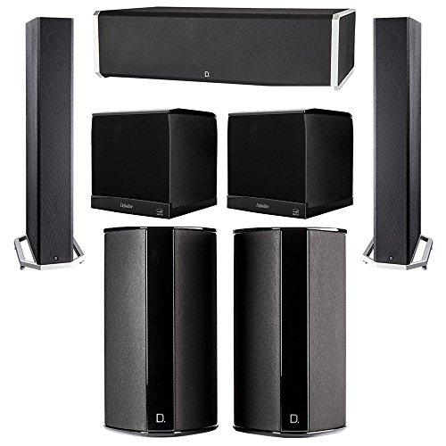 Best Price Definitive Technology 5.2 System with 2 BP9040 Tower Speakers, 1 CS9060 Center Channel Sp...