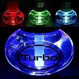 Poppy Aire Ambientador Tropical con 7colores LED multicolor de iluminación 12V 24V para camiones ...