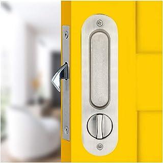 Schuifdeur Insteekslot Handvat Onzichtbaar Verzonken Handvat Klink Interieur Meubels Houten Deurslot/175mm-zilver