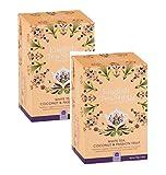 English Tea Shop Té blanco orgánico con coco y maracuyá - 2 x 20 sobres (80 gramos)