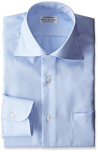 (フェアファクス)FAIRFAX(フェアファクス) 形態安定加工ツイルワイドカラーシャツ
