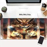 ノートPCに適したゲーミングマウスマットラージマウスマットマウスマットアニメーション、キーボードパッドと (Color : C)