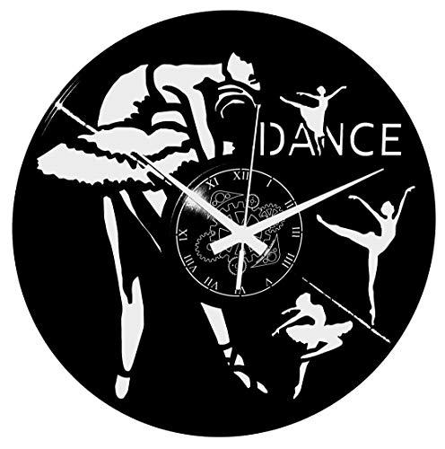 Instant Karma Clocks Orologio da Parete Ballo Saggio Danza Classica Ballerine, Tema, Arredamento, Ragazza