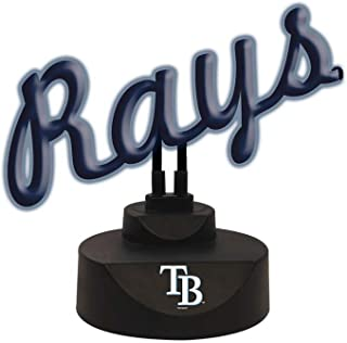 The Memory Company MLB Tampa Bay Rays Script Neon Sign, One Size, Multicolor