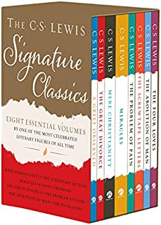 The C. S. Lewis Signature Classics (8-Volume Box Set): An Anthology of 8 C. S. Lewis Titles: Mere Christianity, The Screwtape Letters, Miracles, The ... The Abolition of Man, and The Four Loves