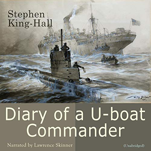 Diary of a U-Boat Commander audiobook cover art
