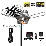HDTV Digital Antenna -150 Miles Range w/ 360 Degree Rotation Wireless Remote -...