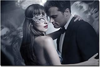 arteWOODS Fifty Shades Darker Movie Poster Canvas Painting Wall Art Pictures Print para Sala de Estar Wall painting24x36 IN sin Marco