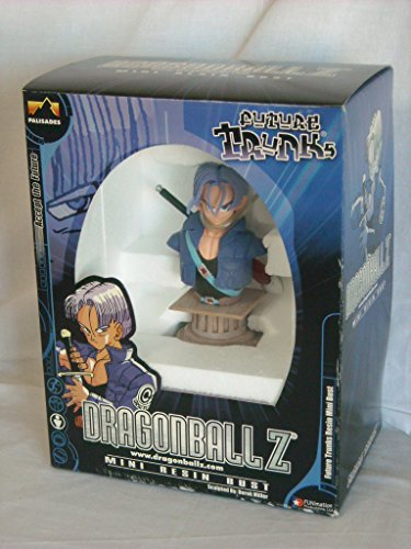 Palisades Toys Dragon Ball Z Future Trunks 5-Inch Mini Resin Bust image