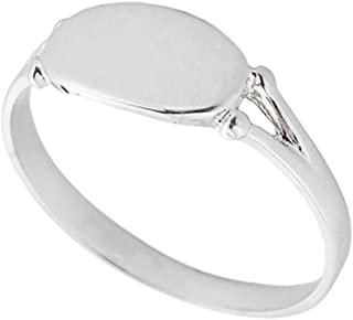Best white gold signet ring womens Reviews