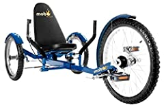 3-Wheel Recumbent Bike – Enjoy the outdoors with this adult tricycle for women and men. Designed for cruising and exercise on flat paved surfaces and gently sloping terrain Low Impact Exercise – Get a cardiovascular workout with minimal stress on you...