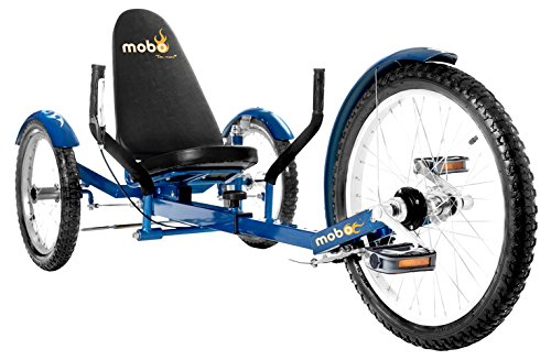 Mobo Triton Pro Adult Recumbent Trike. Pedal 3-Wheel Bicycle. Adaptive Tricycle for Teens to Seniors