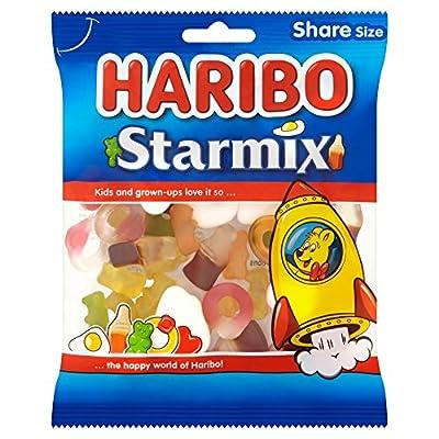 haribo starmix bulk sweets, 140g, pack of 12 HARIBO Starmix bulk sweets, 140g, pack of 12 51UTHC4QI L
