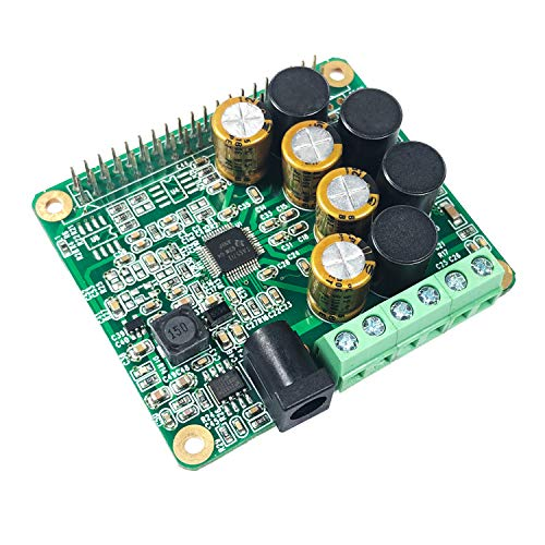 Inno-Maker Raspberry Pi HiFi AMP Modul, 25 W Class-D Endstufe TAS5713 Expansion Board Audio Modul für Raspberry Pi 3 B+ Pi Zero Nichicon Kondensator