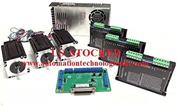 3 Axis CNC Kit Nema 23 381OZ/IN 3.5A Stepper Motor, C10 Breakout Board, KL-5056