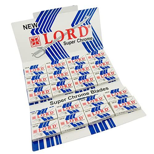 100 Lord-Super-Chrome scheermesjes