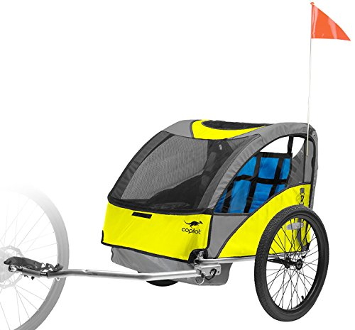 Best copilot double bike trailer