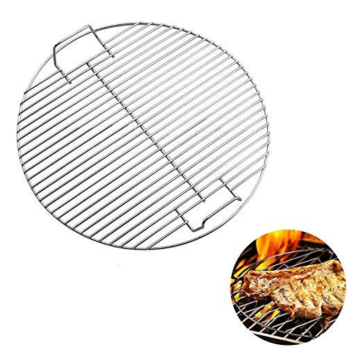 JUNGEN Rond Grillages grillés Grillagés pour barbecue en acier inoxydable Grille de cuisson 45.5cm