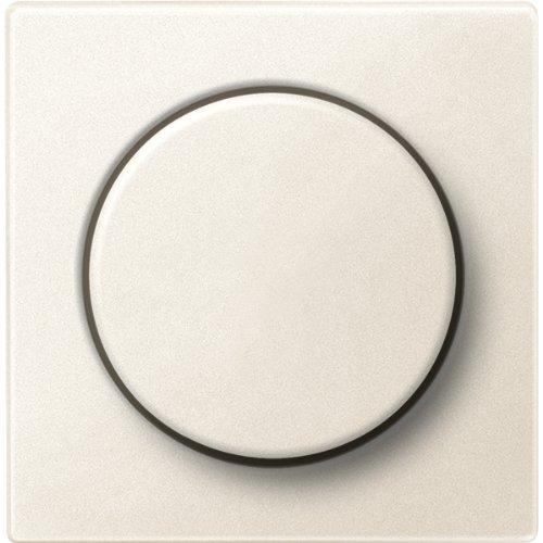 Merten MEG5250-0444 Zentralplatte mit Drehknopf, weiß, System M
