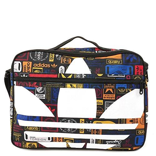 adidas Airliner Trefoil Tasche, Multicolor, 41 x 28 x 9 cm