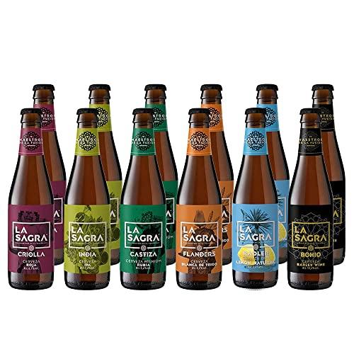 3. La Sagra Pack Cerveza Artesanal 6 Estilos