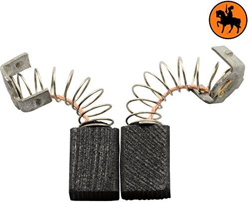 Kohlebürsten für RYOBI TR30P Mauernutfräse -- 5x8x11mm -- 2.0x3.1x4.3\'\'