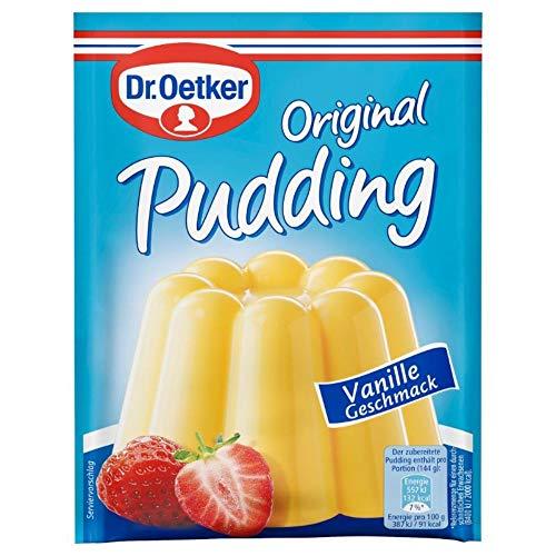 Dr. Oetker Original Pudding Vanille, 3 x 37g