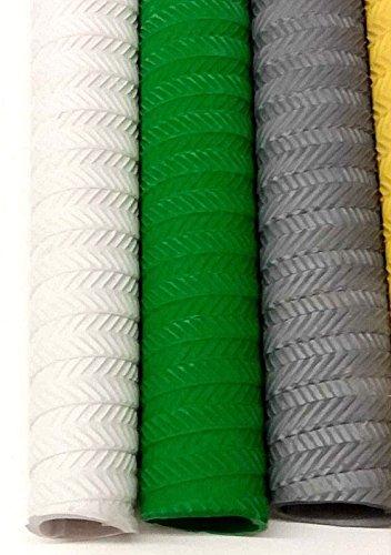 Make or Break Set of 3 Premium Cricket Bat Grip Rubber Replacement Handle Non Slip Good Grip Various Styles (S05 Set of 3)