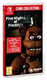 Bienvenue à votre nouveau travail chez Freddy Fazbear's Pizza, un endroit où le fantastique et l'amusement prennent vie ! Le pack Core Collection comprend 2 ans de Freddy ! Les 5 premiers jeux principaux de la franchise FNAF : Five Nights at Freddy's...