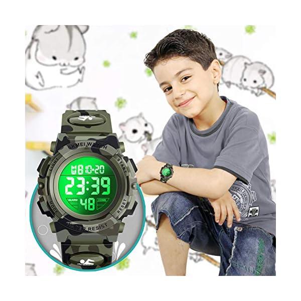 Dodosky LED Multifunctional Waterproof Watch for Kids – Kids Gifts