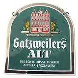 Gatzweilers Brauerei - Altbier - Zapfhahnschild - 9,5 x 8,6 cm