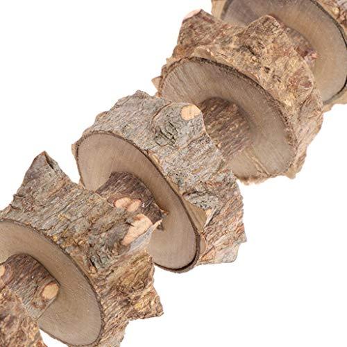 Holz Pet Kauen Spielzeug Zähneknirschen Sauberes Werkzeug Für Kaninchen Meerschweinchen Ratte - 8