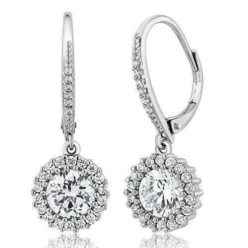 Elegant Round Dangling Earrings - 9